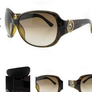 BOUCHERON SUNGLASSES BOU 81 AX5 W/ CRYSTALS